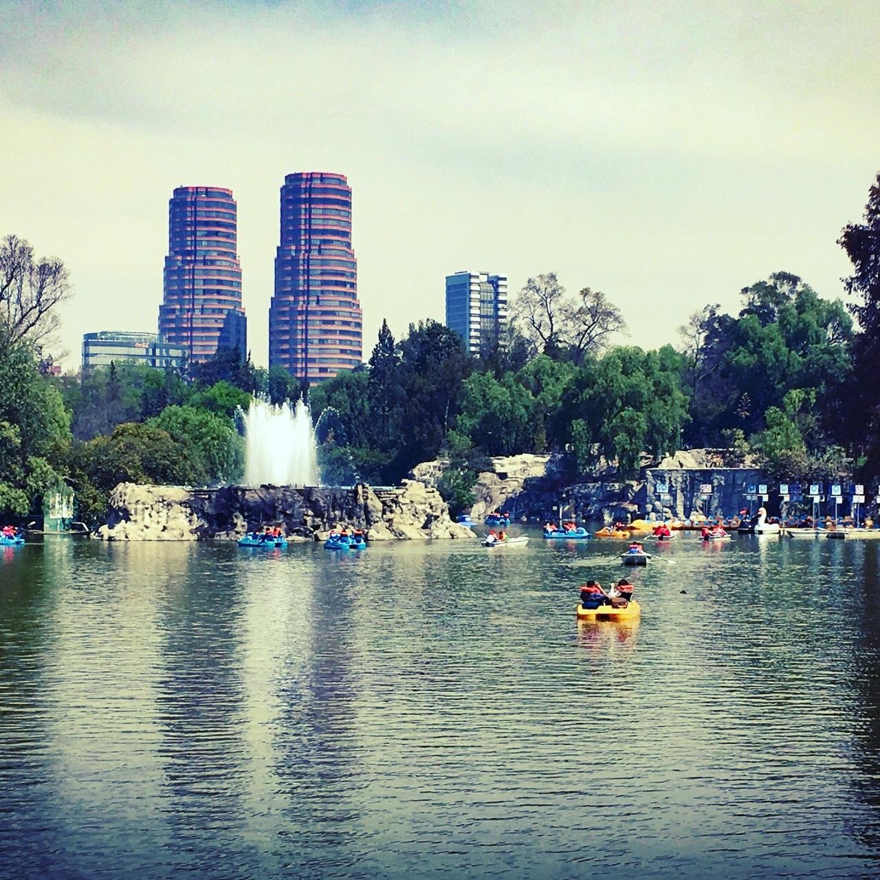 Mexico City, Lago de Chapultepec