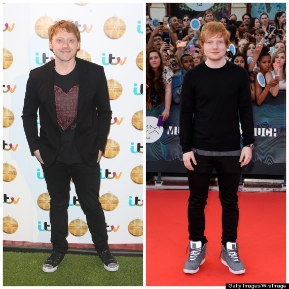'Harry Potter' Star Rupert Grint Gets Mistaken For Ed Sheeran, Goes Along For The Ride