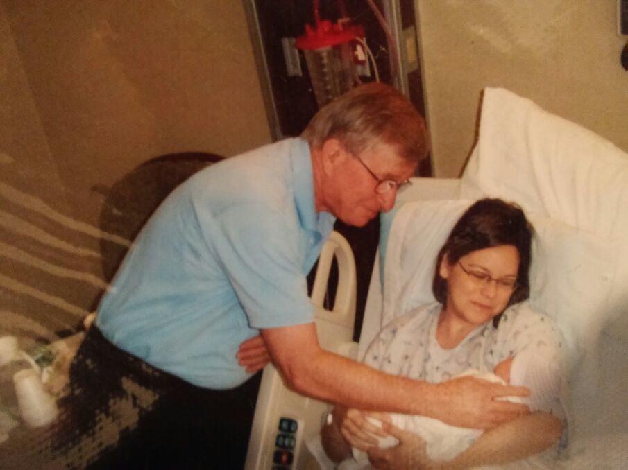 Lawrence J Povlacs with dnl Rachel and grandson Patrick Povlacs