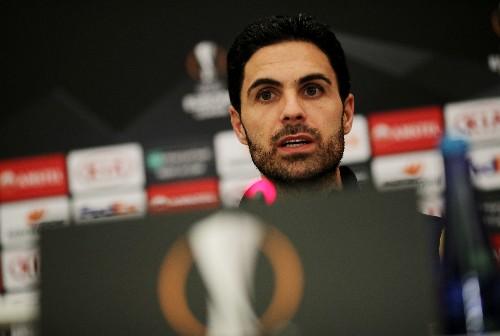 Arteta urges Arsenal to show courage ahead of Olympiakos test