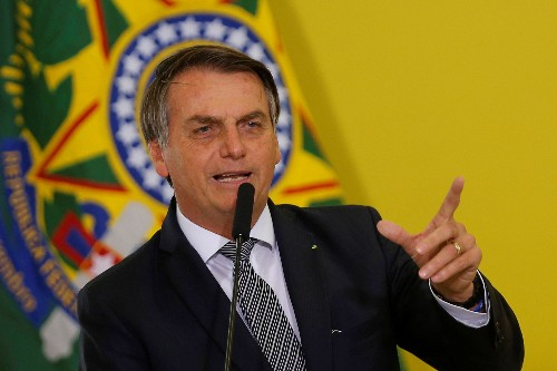 Brazil's Bolsonaro reverses course, now says supports spending cap