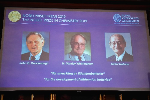 Battery pioneers who made mobile revolution possible win Nobel chemistry prize