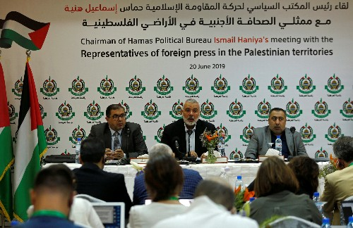 Hamas chief details terms for calm with Israel
