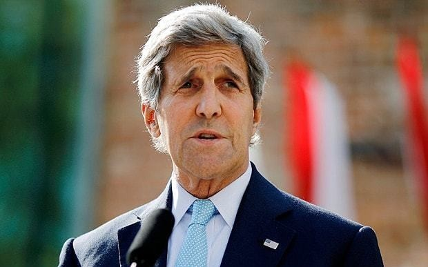 Iran nuclear deal: Kerry 'disturbed' by Ayatollah's vow to defy US in Middle East