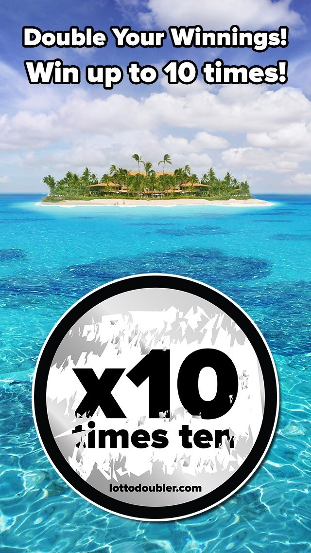 Double Your Winnings! Win up to 10 times! It's all about the doubler! x2, x5, x10 Lotto Doubler instant lottery #millionaire #scratch #scratchticket #scratchtickets #lotto #doubler #lottery #lottodoubler #lotterydoubler #jackpot #instantgames #instant #games #maldives