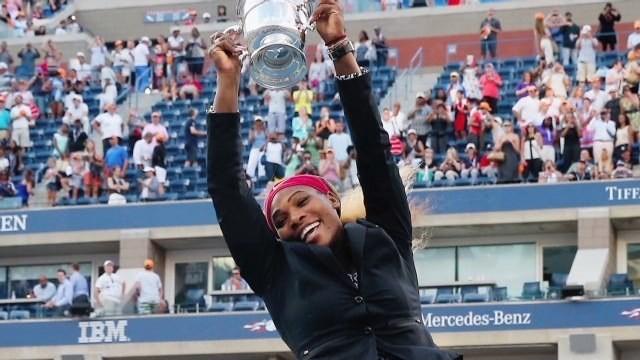 U.S. Open: Serena Williams overpowers Caroline Wozniacki to claim 18th grand slam title