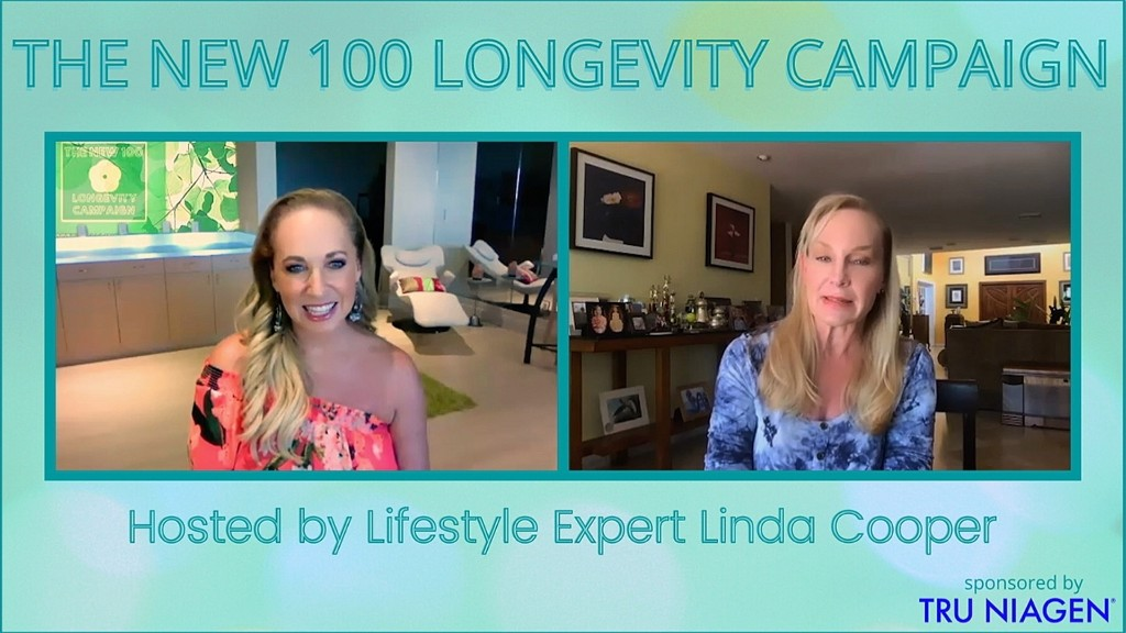 "EP1 Season Premiere Host Linda Cooper Interviews Dr. Sandra Kaufmann on ""Why We Age, And How To Stop It"""