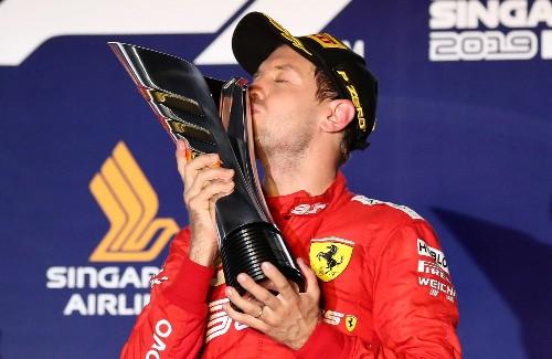 Motor racing: Vettel shows he is still a winner