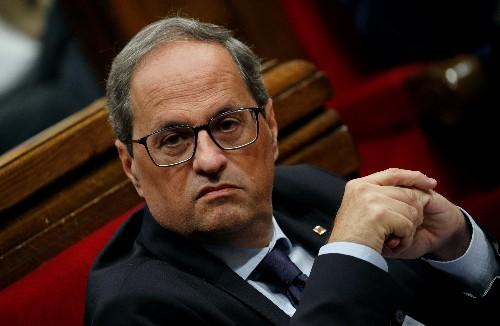 Catalan leader urges Spain to start talks on independence referendum