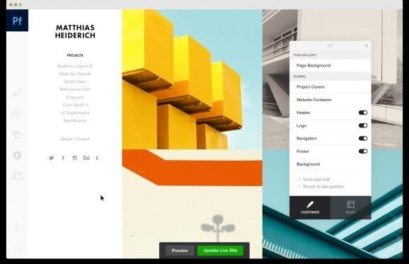 Adobe launches Squarespace competitor Adobe Portfolio