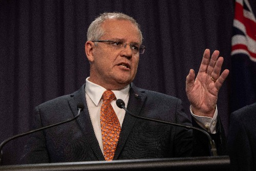 Australia's Morrison calls for more prayer and religious freedom