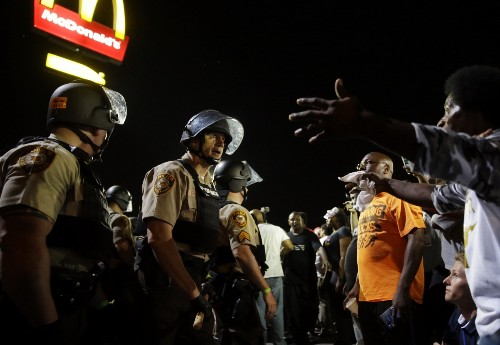 Protests Continue in Ferguson: Pictures