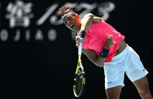 Red-hot Nadal faces Delbonis, says majors tally not a focus