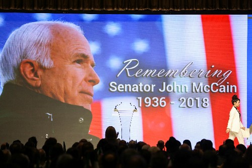 McCain's widow, daughter punch back at Trump's Twitter tirade