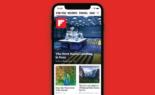 Flipboard'u iPhone X ile deneyimleyin