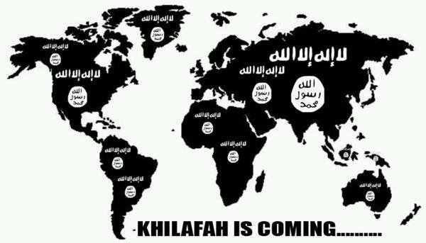 Islam Against Terror - Magazine cover