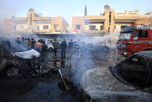 Car bomb hits Syrian Kurdish-held city of Qamishli: SDF official
