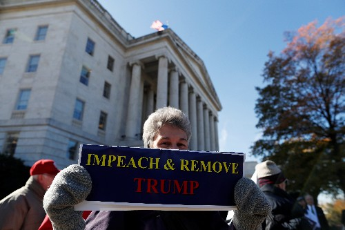 U.S. House Judiciary panel invites Trump to Dec. 4 impeachment hearing