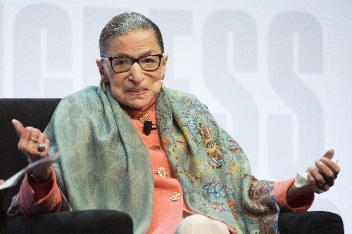 Justice Ginsburg reports she's on way to 'well' after cancer