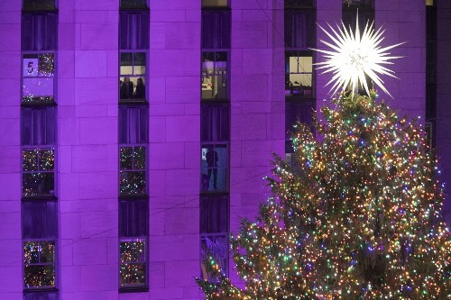Lighting the Tree in Rockefeller Center: Pictures