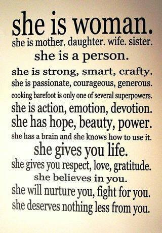 The essence of woman
