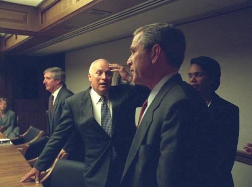Photos Released of Bush Administration After 9/11 Attacks: Pictures