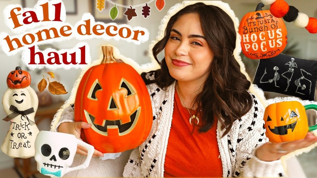HUGE Fall Home Decor Haul! (all of the cozy vibes)