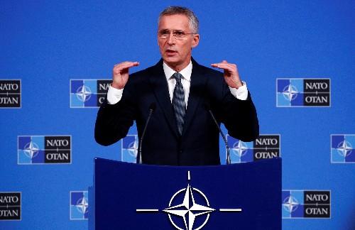 Nato-Chef begrüßt AKK-Vorschlag für Schutzzone in Nordsyrien