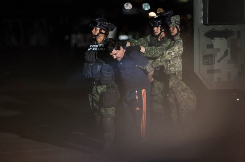 Drug Kingpin El Chapo Captured: Pictures