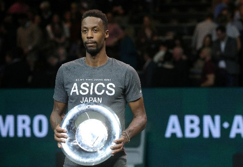 ATP roundup: Streaking Monfils wins Rotterdam title