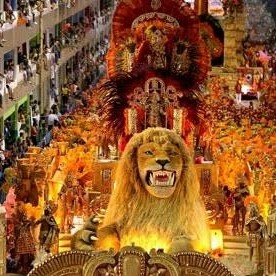 Rio De Janeiro carnival - cover