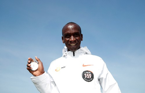 Kipchoge likens sub-two hour marathon attempt to moon landing