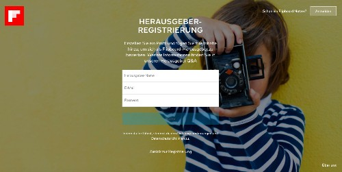 Flipboard Self-Service Plattform steht nun für Herausgeber aus aller Welt bereit