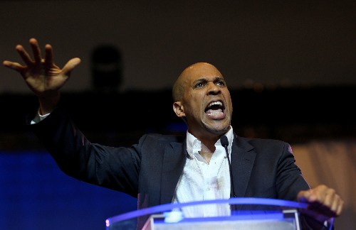 In Trump era, U.S. presidential candidate Booker confronts race head-on
