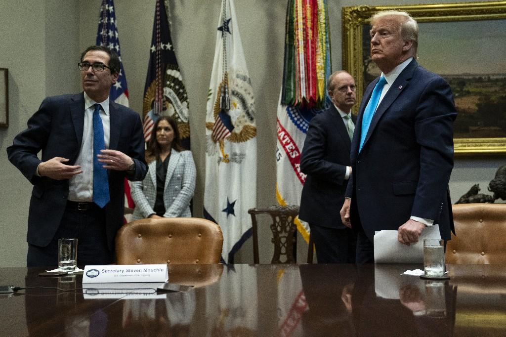 Democrats want additions to Trump $250B emergency virus aid