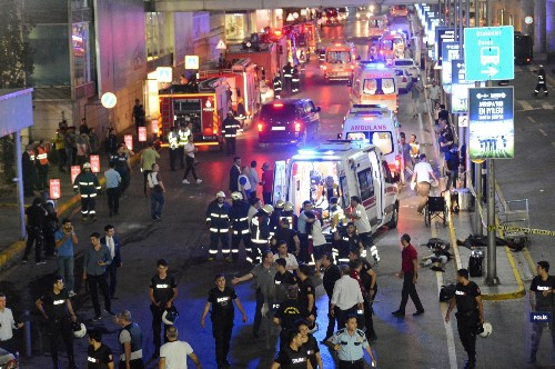 Explosions Rock Istanbul Airport: Pictures