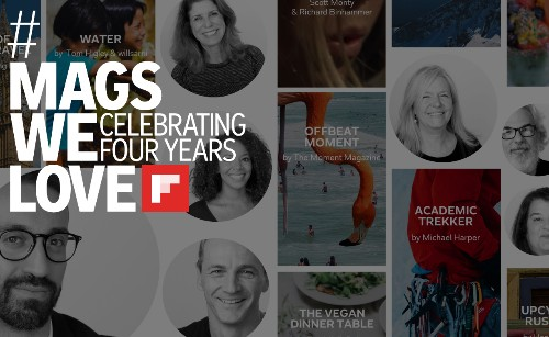 Festeggiamo quattro anni di riviste su Flipboard