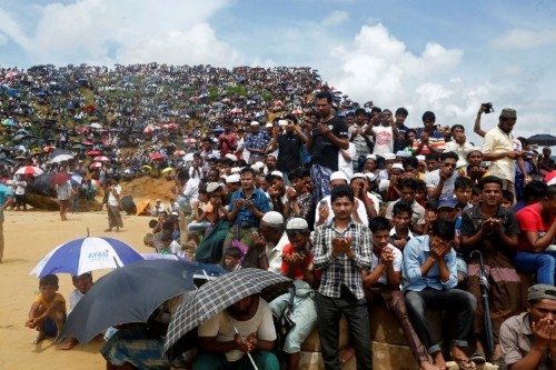 Rohingya refugees pray for justice as court to rule in genocide case