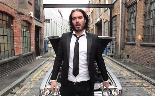 Parklife! Russell Brand makes own parody video after Twitter ridicule