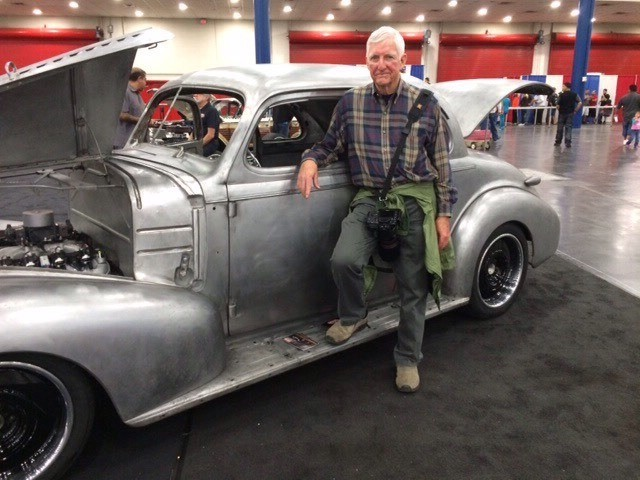 My 39 Chevy at the 2014 Houston Autorama in Dooley and Sons booth.