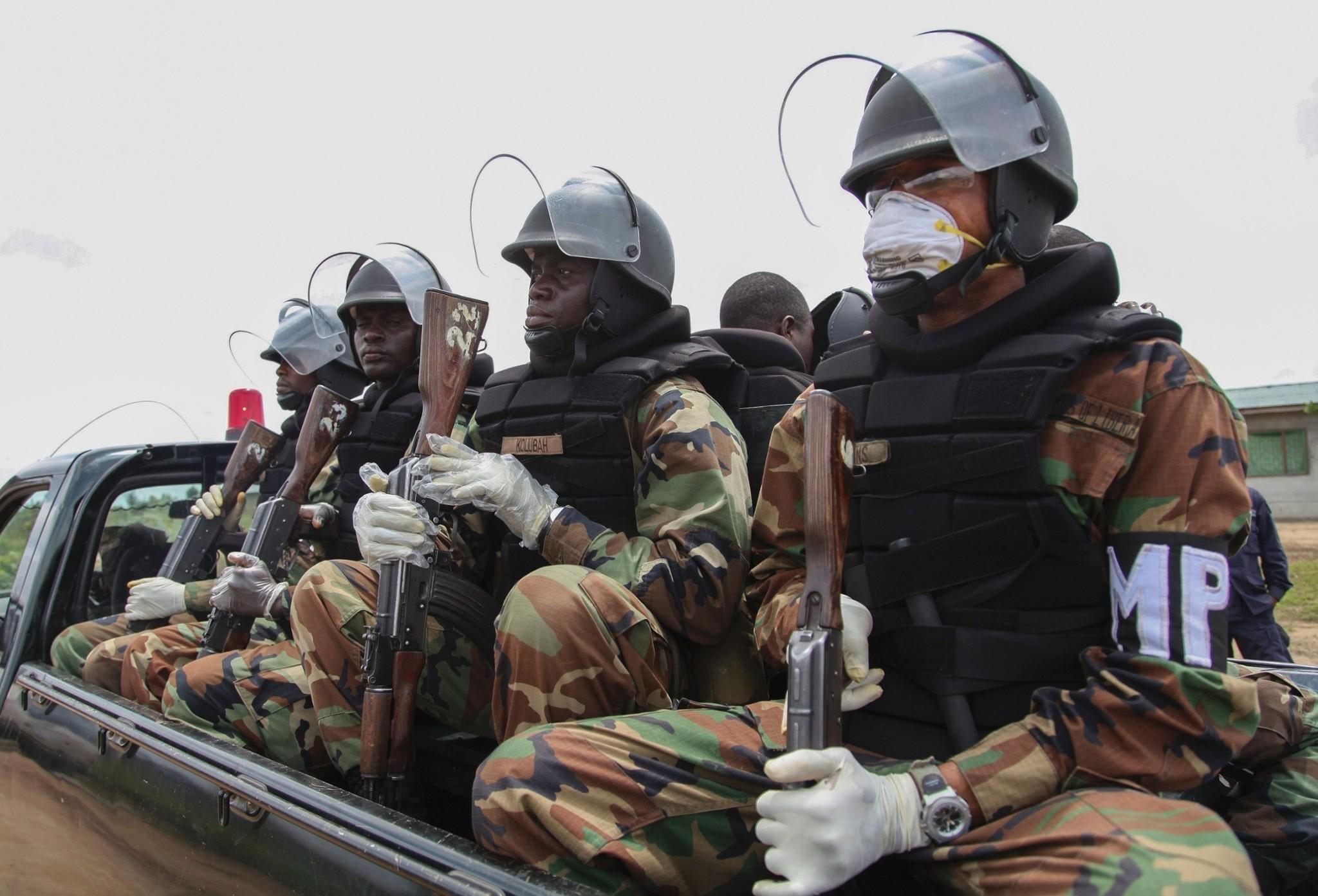 Ebola outbreak precautions - in pictures