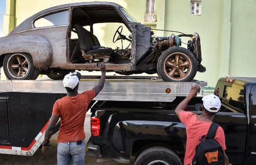 Filming Fast & Furious 8 in Havana: Pictures