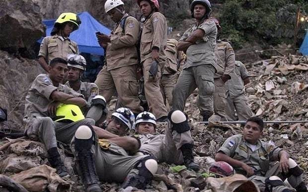 Rescuers free three trapped miners in Honduras but eight still missing