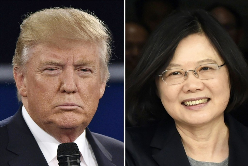 Taiwan's leader says call with Trump didn't reflect U.S. policy change