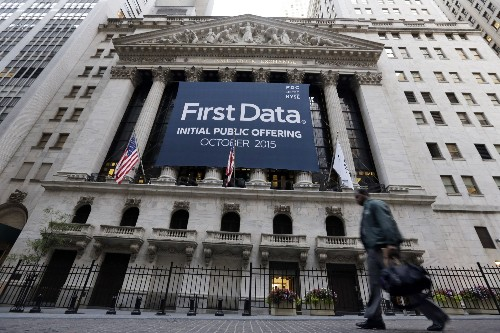 Raising $2.56B In IPO, First Data Opens Only 2.4% Up At $16.39, Now Trading Below IPO Price