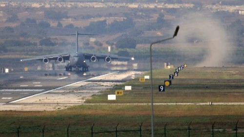 First batch of US F-16s arrives in Turkey to fight ISIL