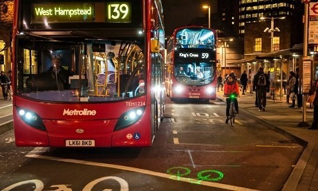 Laserlight, the bright idea of a student behind a lifesaver for cyclists