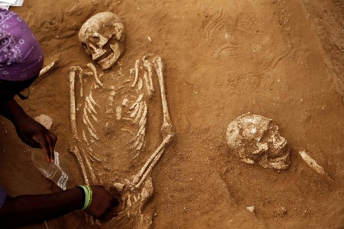 Biblical bad guys the ancient Philistines came from Europe, DNA shows