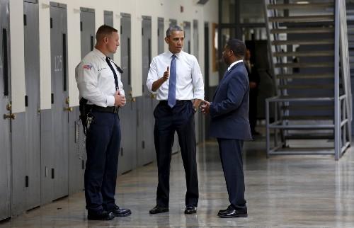 President Obama Visits Prison in Oklahoma: Photos