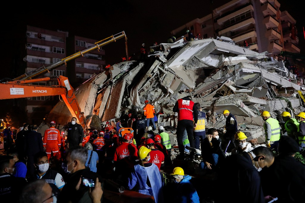 Turkey's death toll from earthquake rises to 17